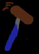 sketch of a sledgehammer